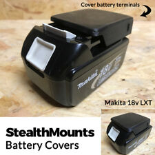 3x StealthMounts Battery Cover for Makita 18v LXT Mount Slide Covers Protector