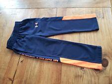 UNDER ARMOUR Boys 4 Jogging Pants Navy Orange