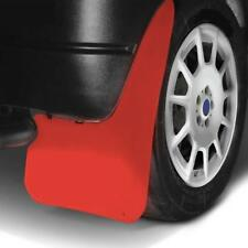 LARGE Wide RED Mud Flaps Splash Guards fits SSANGYONG MUSSO (MF3)