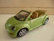 VW 1300 Volkswagen Kever New Beetle Cabrio - 1/43 - Green - Maisto - China