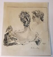 Fine Ink Illustration    R.W. Wright   1898