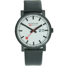 Mondaine Men's Watch SBB Evo Big Date Wrist Watch a627.30303.61sbb Leather