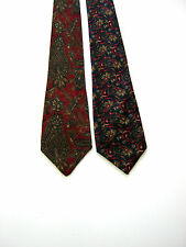 2 X CRAVATTE TIES ST. MICHAEL MADE IN ENGLAND