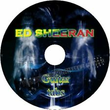 ED SHEERAN GUITAR TAB CD TABLATURE GREATEST HITS BEST OF ACOUSTIC ROCK MUSIC