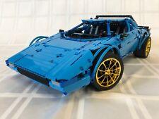 1/8 LEGO TECHNIC LANCIA STRATOS ALT BUILD PORSCHE 42056 MOC NON RACERS CREATOR