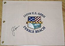 JACK NICKLAUS Signed 2000 US OPEN Canvas Pin Flag - JSA LOA Embroidered