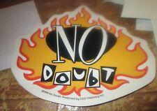 No Doubt Sticker Collectible Rare Vintage 90'S Metal Live Decal Gwen Stefani