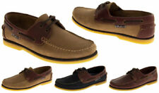 Seafarer 100% Leather Deck Shoes for Men
