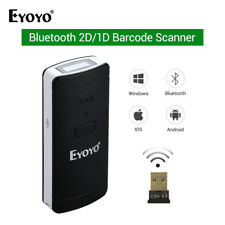 Eyoyo Bar Code Reader Barcode Reader Scanner 2 in 1 Protable for iOS Android