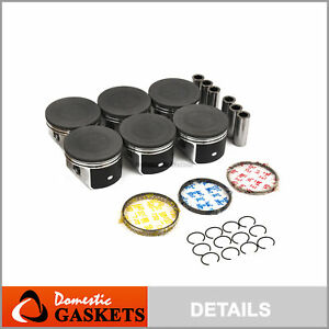 Pistons and Rings fit 04-07 Chrysler 300 Pacifica Dodge Charger Magnum 3.5L