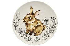 Teller Platte Hasenmotiv Keramik Deko Ostern Landhaus Shabby Vintage