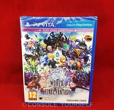 WORLD OF FINAL FANTASY DAY ONE EDITION - PLAYSTATION VITA - NEW SEALED - PAL UK