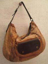 -AUTHENTIQUE  grand sac à main ALVIERO MARTINI toile matelassée TBEG vintage bag