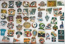 MIAMI DOLPHINS NFL Football 49 PINS Vintage Marino Super Bowl Playoffs Champs +
