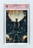9.8 CBCS SS Batman Detective Comics #1000 Lee Variant Tomasi signed not CGC 9.8