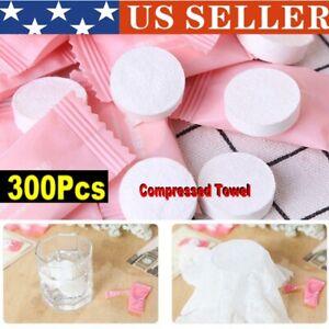 100-500 PCS Disposable Face Towel Travel Magic Tissue Portable Compressed Towel