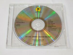 Under a Blood Red Sky Live by U2 CD 1983 Island Records Party Girl New Years Day