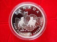 2004 $5 Fine .9999 Silver Canadian Arctic Fox 1 oz – Proof