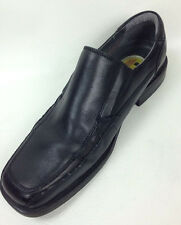 Slip-On Dockers Black Leather Loafers Men's Size 11.5 M All Motion Comfort Shoes