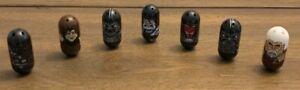 Lot of 7 Dark Star Wars Mighty Beanz