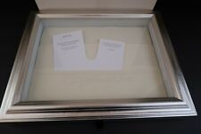 Hallmark Signature Memory Keepsake Display Wedding Memorial NEW Silver Wood