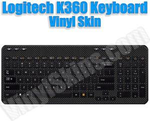 Choose Any 1 Vinyl Decal/Skin for Logitech K360 Keyboard - Free US Shipping!
