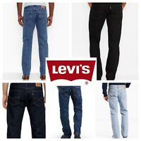 Levis 505 Jeans New Mens Regular Fit Straight Leg 29 30 31 32 33 34 36 38 40 42