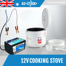NEW Portable Food Stove 3L 12V Rice Cooker Car Boat Camping Cooking Oven Caravan