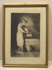 Original-Radierungen (1900-1949) mit Porträt- & Persönlichkeiten-Motiv