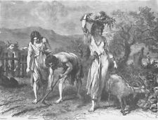 BRONZE AGE. Cultivation of gardens during the Bronze Age 1893 old print