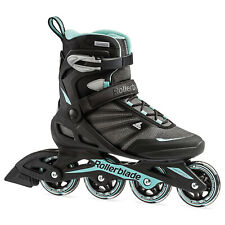 Rollerblade Women's Adult Fitness Inline Skate Size 7, Black & Blue (Used)