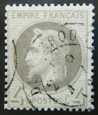 France Stamp 1863-70 4c Emperor Napoleon III Scott # 31 Used