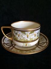 Pickard Hand Painted Artist signed Cup & Saucer