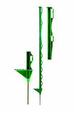 Electric Fencing Posts - Green Premium Paddock Posts - 10 Pack