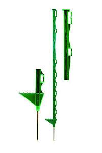 Electric Fencing Posts - Green Premium Paddock Posts - 10 Pack