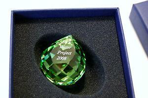 SWAROVSKI 2008 SCS GALA WATER PROJECT PAPERWEIGHT 967003