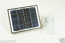Solar Panel 10W / 24V DC Application - suit Lockmaster Gate Opener (LM109)