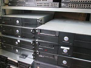 Dell 0U3561 PowerVault 114T Rack Enclosure 9NTN641 Incl 1x LTO2 LTO 2 Drive