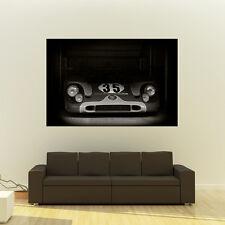 Poster of Porsche 917 Le Mans Giant B&W Vintage Race Car Huge Print 54x36 Inches