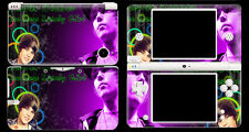 Skin Sticker to fit Nintendo DSI XL - Justin Bieber