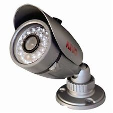 RevoAmerica CCTV Bullet Surveillance Camera 600TVL IR 80ft Night Vision I/O