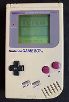 Original Nintendo Game Boy Model No. DMG-01 w/ Tetris Game (1989)
