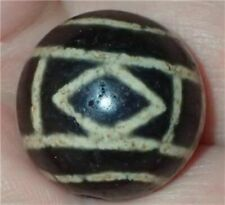20mm Rare Antique Indo -Tibetan Sulemani Chung old Agate bead, #S1898