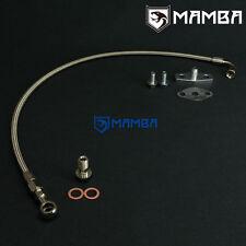 MAMBA Turbo Oil Feed Line FOR TOYOTA 3SGTE Rev3 w/ Garrett T3 T4 turbo