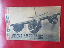 Avions américains, photos, plans, caractéristiques USA Aircraft 1945 WW2