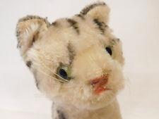MES-58938Ältere Steiff Katze,L. ca. 20 cm,mit Holzwolle gestopft