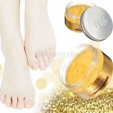 24K Gold Foot Care Scrub Treatment Cream Whitening Remove Calluses Exfoliating