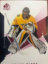 18-19 UD SP Authentic Red Parallel #39 Pekka Rinne