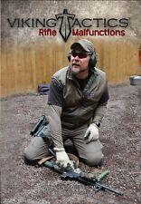 VTAC Viking Tactics - RIFLE MALFUNCTIONS Drills Training DVD Video - VTAC-DVD-3