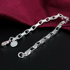 925 Sterling silver plating Hot New Women's bracelet Fashion Jewelry gift